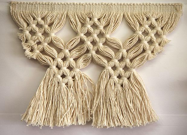 Fiocco per tende embrasse doppio testa legno embrasse per tende